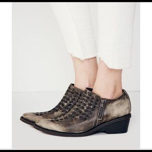 Free People- leather Indio boot